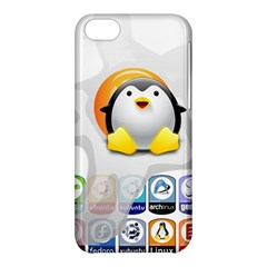 Linux Versions Apple Iphone 5c Hardshell Case