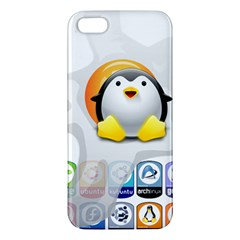 LINUX VERSIONS iPhone 5S Premium Hardshell Case
