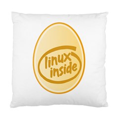 Linux Inside Egg Cushion Case (two Sided)