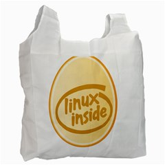 LINUX INSIDE EGG Recycle Bag (One Side)