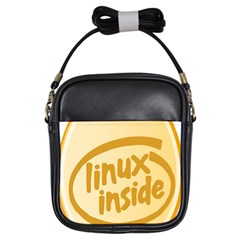 LINUX INSIDE EGG Girl s Sling Bag