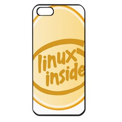 Linux Inside Egg Apple Iphone 5 Seamless Case (black)