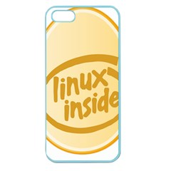 Linux Inside Egg Apple Seamless Iphone 5 Case (color)