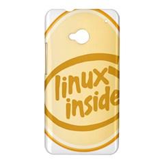 LINUX INSIDE EGG HTC One Hardshell Case