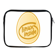 LINUX INSIDE EGG Apple iPad Zippered Sleeve