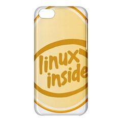Linux Inside Egg Apple Iphone 5c Hardshell Case