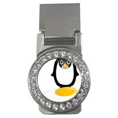 Linux Tux Pengion Oops Money Clip (CZ)