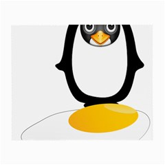 Linux Tux Pengion Oops Glasses Cloth (small)