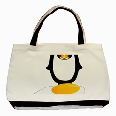 Linux Tux Pengion Oops Classic Tote Bag