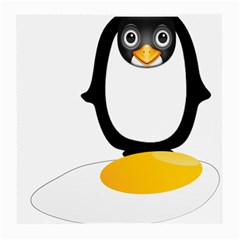 Linux Tux Pengion Oops Glasses Cloth (Medium, Two Sided)