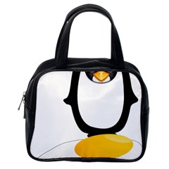 Linux Tux Pengion Oops Classic Handbag (One Side)