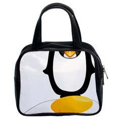 Linux Tux Pengion Oops Classic Handbag (Two Sides)