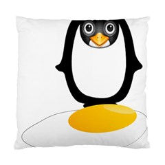 Linux Tux Pengion Oops Cushion Case (Two Sided)