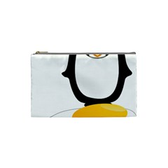 Linux Tux Pengion Oops Cosmetic Bag (Small)
