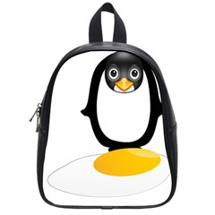 Linux Tux Pengion Oops School Bag (small)