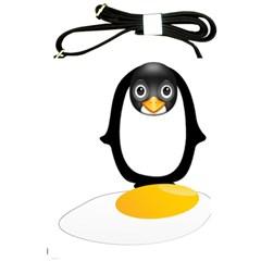 Linux Tux Pengion Oops Shoulder Sling Bag
