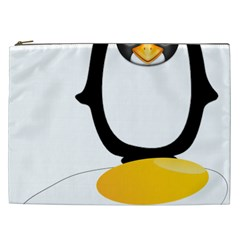 Linux Tux Pengion Oops Cosmetic Bag (xxl)