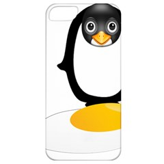 Linux Tux Pengion Oops Apple iPhone 5 Classic Hardshell Case