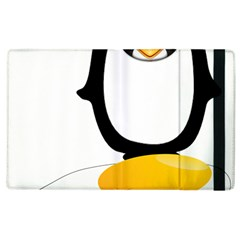 Linux Tux Pengion Oops Apple iPad 2 Flip Case