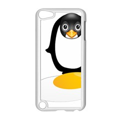 Linux Tux Pengion Oops Apple iPod Touch 5 Case (White)