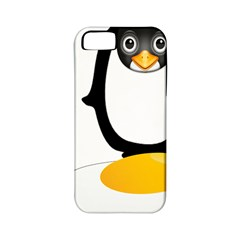 Linux Tux Pengion Oops Apple iPhone 5 Classic Hardshell Case (PC+Silicone)