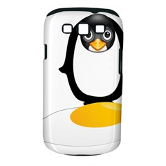 Linux Tux Pengion Oops Samsung Galaxy S III Classic Hardshell Case (PC+Silicone)