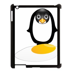 Linux Tux Pengion Oops Apple Ipad 3/4 Case (black)