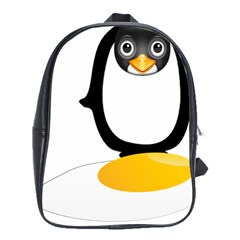 Linux Tux Pengion Oops School Bag (xl)