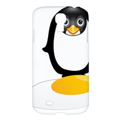Linux Tux Pengion Oops Samsung Galaxy S4 I9500/i9505 Hardshell Case