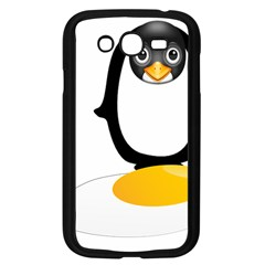 Linux Tux Pengion Oops Samsung Galaxy Grand Duos I9082 Case (black)