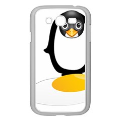Linux Tux Pengion Oops Samsung Galaxy Grand DUOS I9082 Case (White)