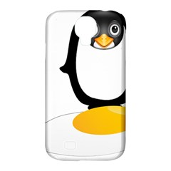 Linux Tux Pengion Oops Samsung Galaxy S4 Classic Hardshell Case (pc+silicone)