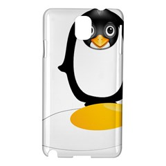 Linux Tux Pengion Oops Samsung Galaxy Note 3 N9005 Hardshell Case