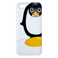 Linux Tux Pengion Oops iPhone 5S Premium Hardshell Case