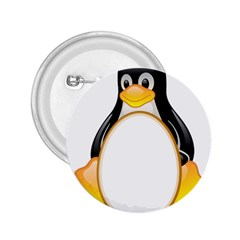 LINUX TUX PENGUINS 2.25  Button