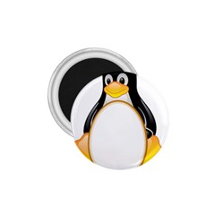 LINUX TUX PENGUINS 1.75  Button Magnet
