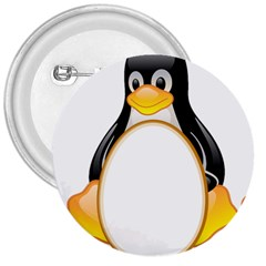 LINUX TUX PENGUINS 3  Button