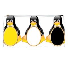 LINUX TUX PENGUINS Pencil Case