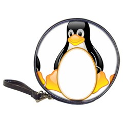 Linux Tux Penguins Cd Wallet