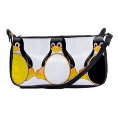 Linux Tux Penguins Evening Bag