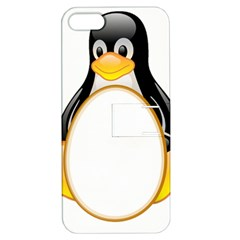 LINUX TUX PENGUINS Apple iPhone 5 Hardshell Case with Stand