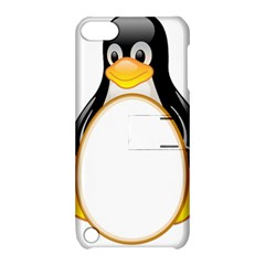 LINUX TUX PENGUINS Apple iPod Touch 5 Hardshell Case with Stand