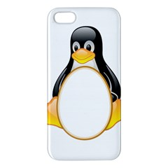 LINUX TUX PENGUINS iPhone 5 Premium Hardshell Case