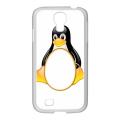 LINUX TUX PENGUINS Samsung GALAXY S4 I9500/ I9505 Case (White)