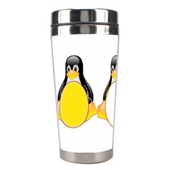 LINUX TUX PENGUINS Stainless Steel Travel Tumbler