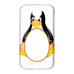Linux Tux Penguins Samsung Galaxy S4 Classic Hardshell Case (pc+silicone)