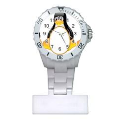 LINUX TUX PENGUINS Nurses Watch