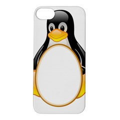 LINUX TUX PENGUINS Apple iPhone 5S Hardshell Case