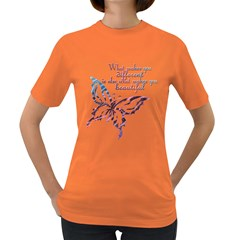 A beautiful tee Womens' T-shirt (Colored)