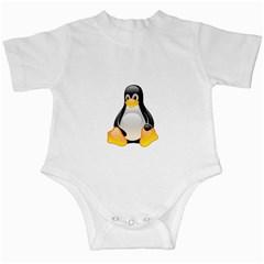 CRYSTAL LINUX TUX PENGUIN  Infant Bodysuit